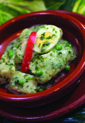 Fish in Salsa Verde (Parsley and Garlic Sauce)