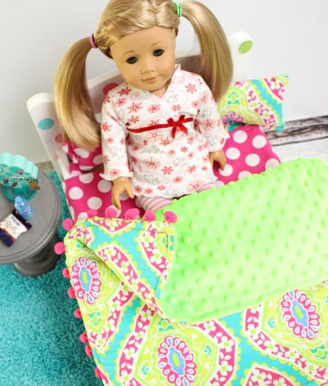 American Girl DIY Doll Blanket