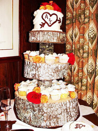 Woodland Wedding Cake Stand
