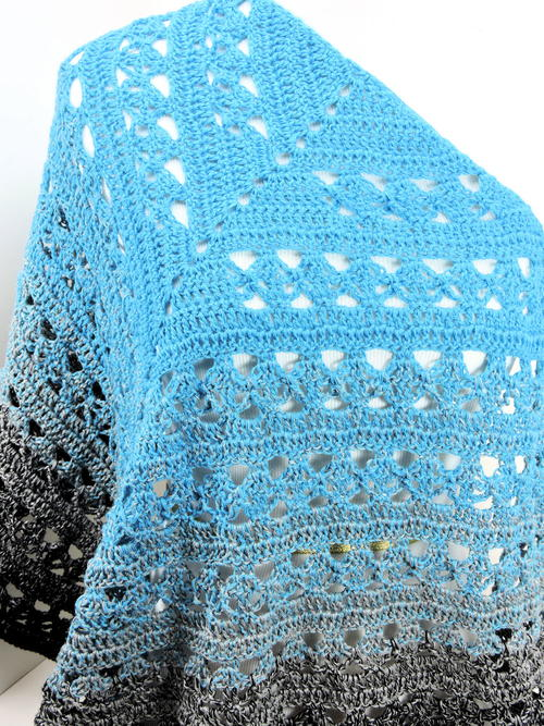 Lunar Crossings Shawl
