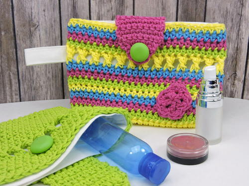 Flirty Makeup Clutch