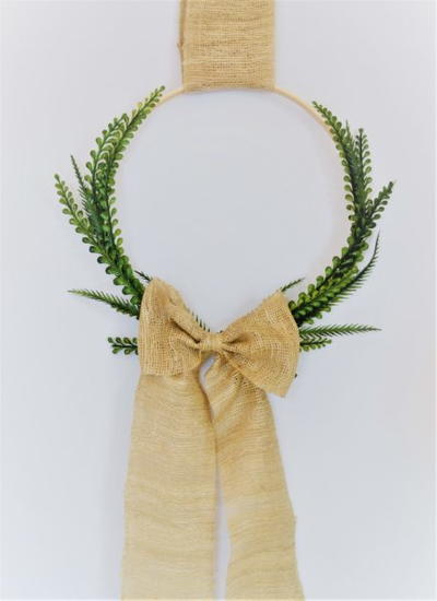 Easy Amish DIY Wreath