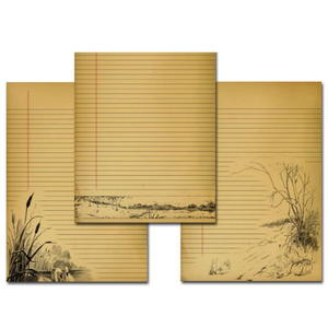 image about Printable Journal Pages named Printable Included Basic Magazine Internet pages