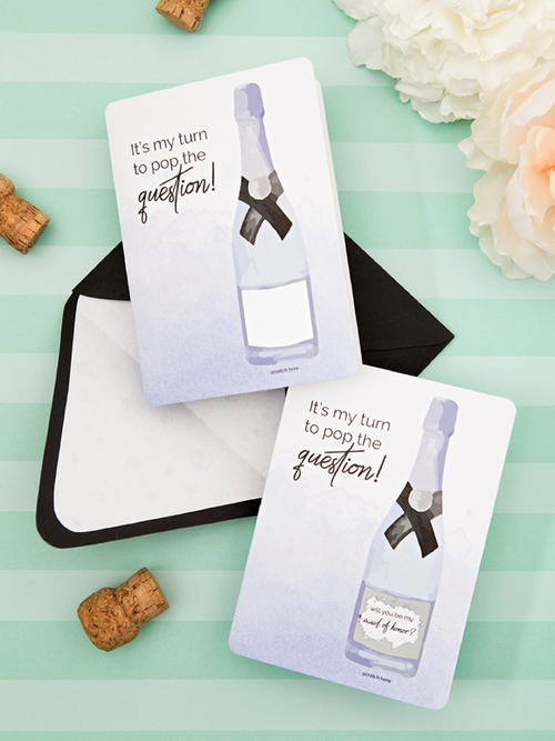 Surprise Bridesmaids Invitations AllFreeDIYWeddingscom