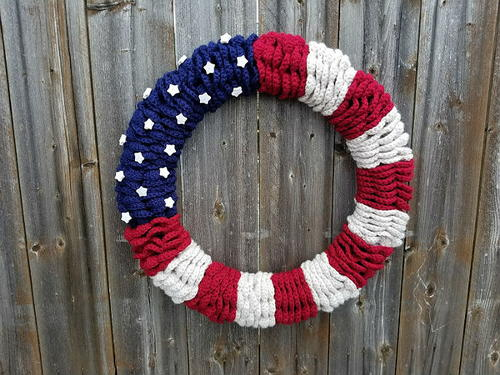 American Flag Wreath_1