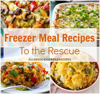 20 Freezer Meal Recipes to the Rescue