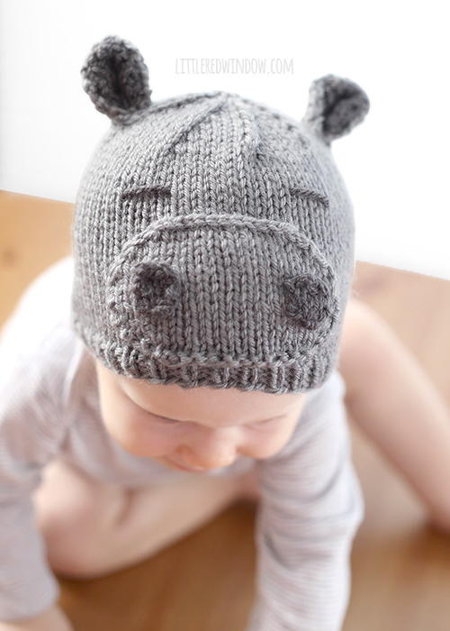 Happy Hippo Hat