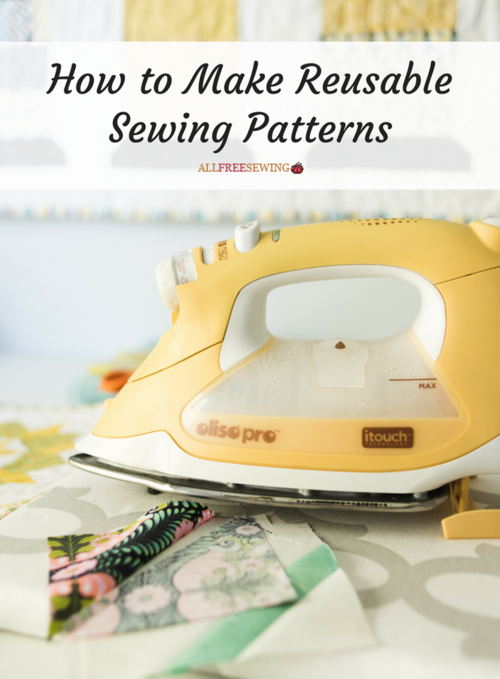 How to Make Reusable Sewing Patterns