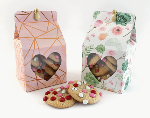 Lovely Heart Favor Boxes