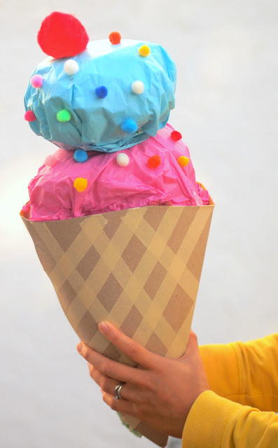 Yummy Ice Cream Gift Wrapping