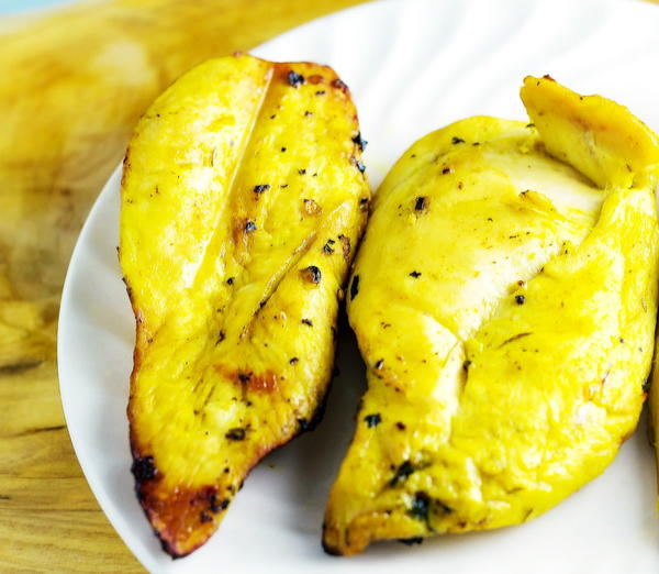 Lemon Turmeric Grilled Chicken