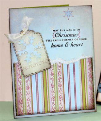 Christmas Heart and Home Card