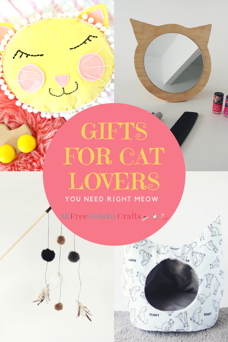 12 gifts for cat lovers you need right meow for Gift ideas for craft lovers