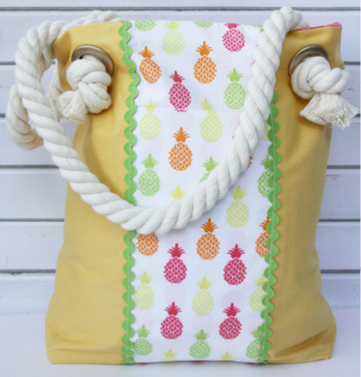 Pineapple DIY Tote Bag