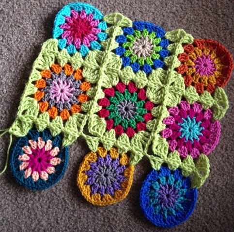 Continuous Join As You Go Crochet Tutorial