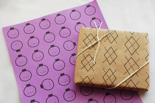 Last Minute Gift Wrap