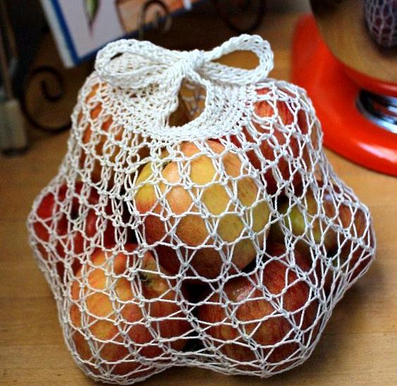 Simple Produce Diy Reusable Bag Allfreeknitting Com