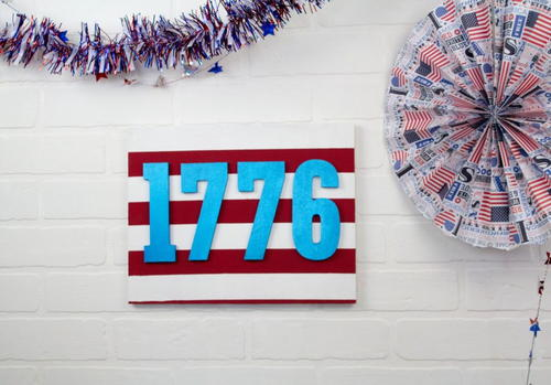 DIY 4TH OF JULY DECOR