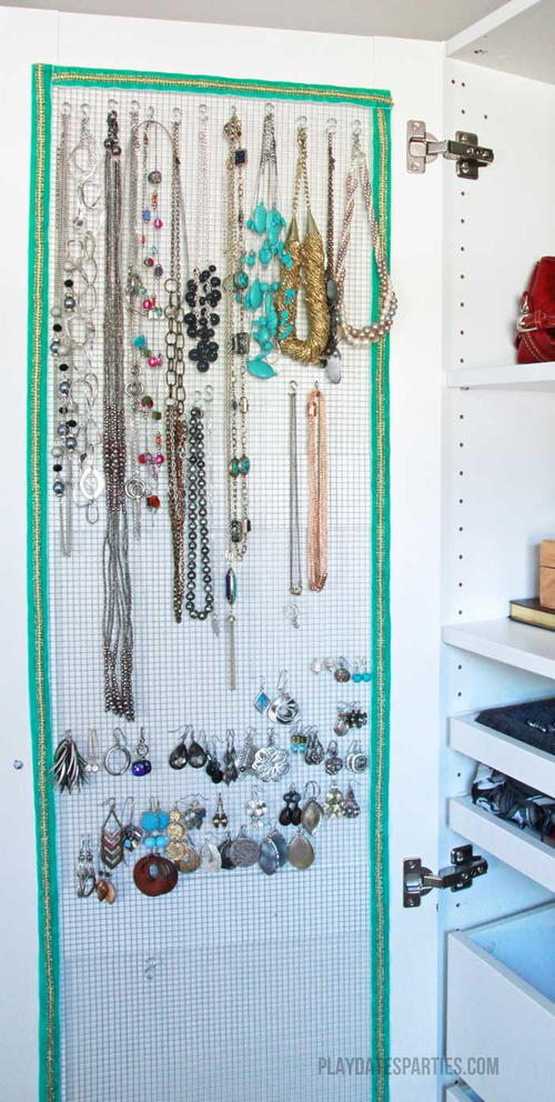 How To Make An Awesome Hidden Jewelry Organizer