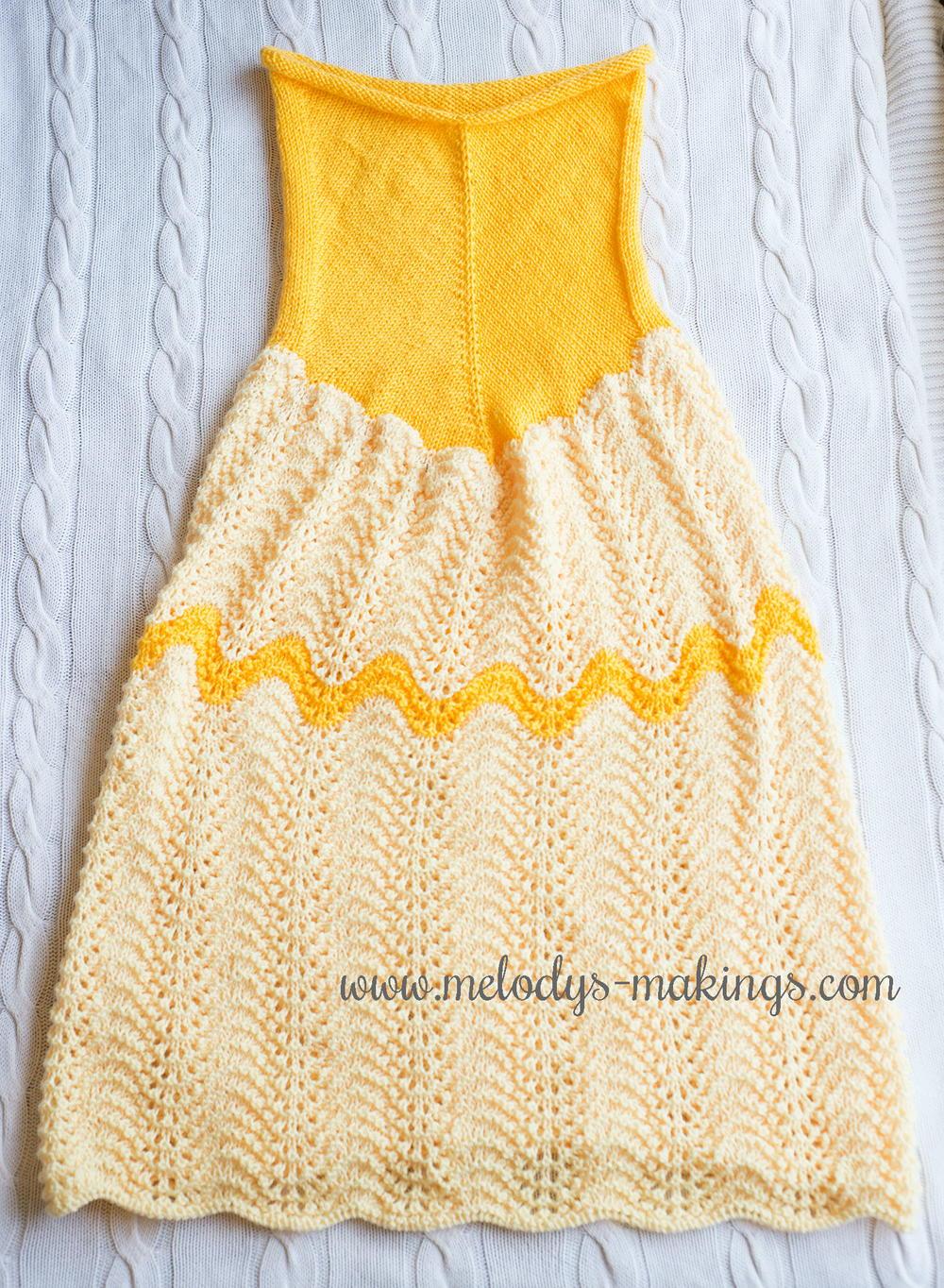 Princess Dress Blanket Allfreeknitting Com