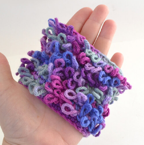 Loopy Loops Crochet Stitch Tutorial