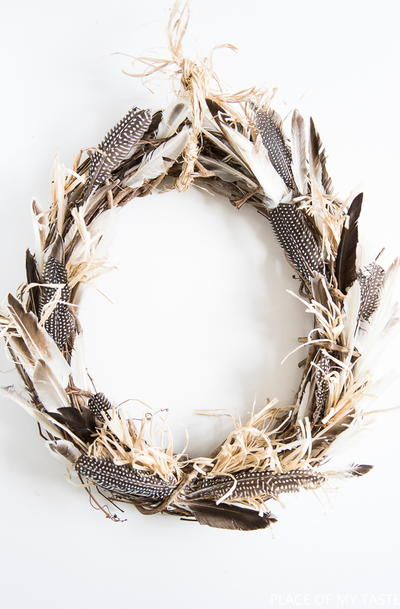 Amish Wreath Feather Craft