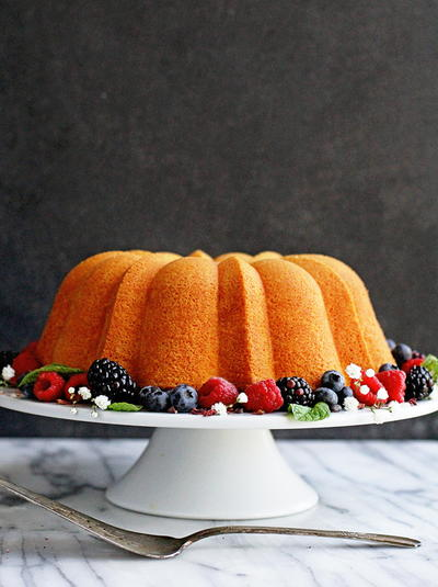 Classic Cream Cheese Pound Cake
