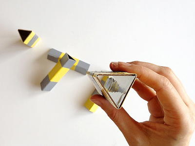 Cool Kaleidoscope Cardboard Craft