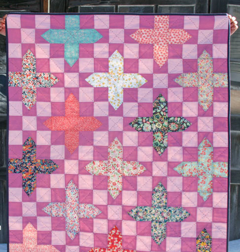 Royal Plum Baby Quilt Pattern