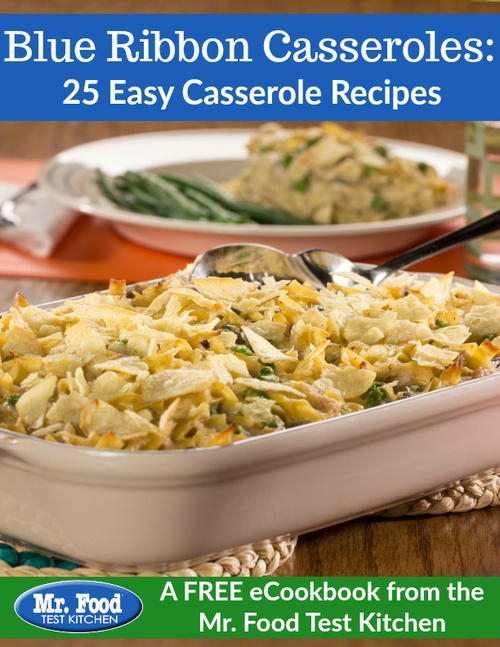 Blue Ribbon Casseroles: 25 Easy Casserole Recipes Free eCookbook