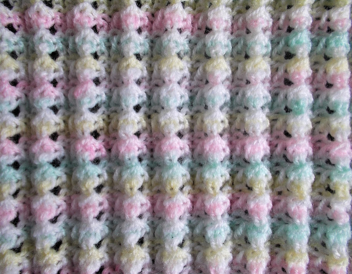 Little Surprise Baby Blanket Pattern
