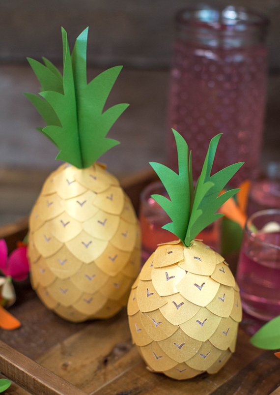 Perfect Pineapple Party Decor