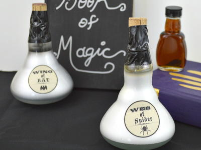 Light Bulb Potion Bottle