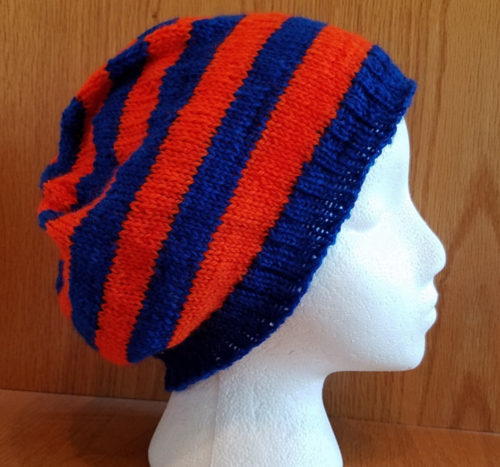 Team Spirit Knit Hat Pattern