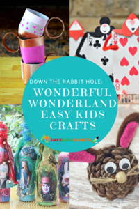 Down the Rabbit Hole: 23 Wonderful Alice in Wonderland Crafts