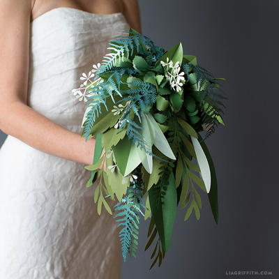 Paper Greenery Bouquet