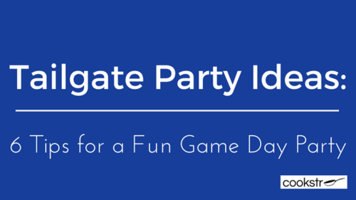 Tailgate Party Ideas 6 Tips for a Fun Game Day Party