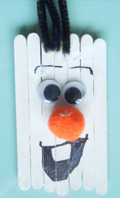 Olaf-Inspired Snowman Craft