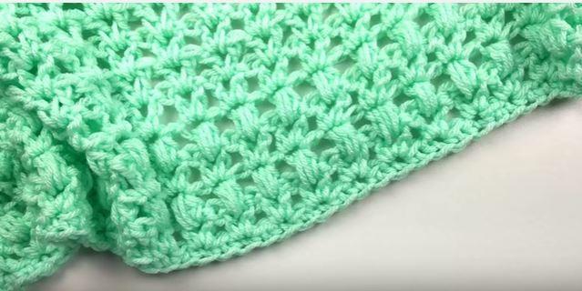 One Skein Mini Crochet Blanket Pattern Allfreecrochet Com