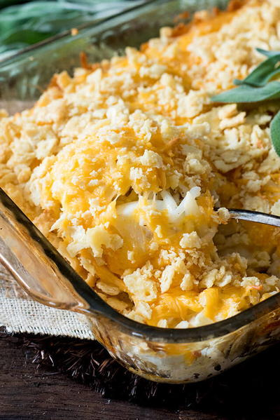 Amish Egg and Hash Brown Casserole