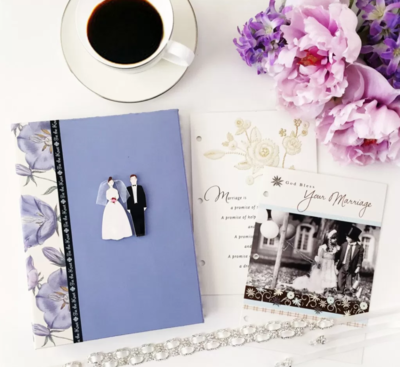 Wedding Card Photo Album