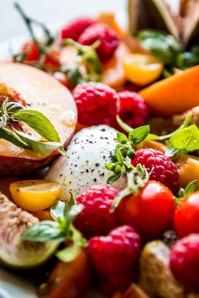 Summer Fruit Caprese Salad_1