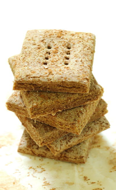 Homemade Gluten-Free Graham Crackers