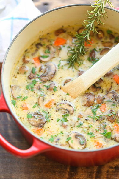 Better Than Campbells Chicken Mushroom Soup