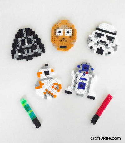 Fun Star Wars Perler Bead Patterns