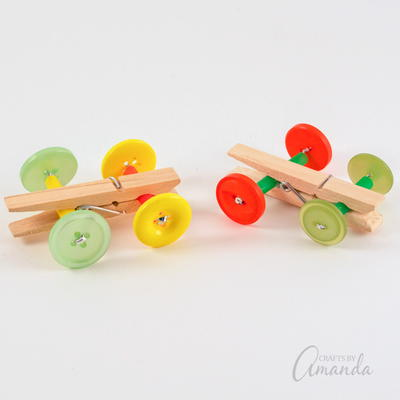 Clothespin Car Craft