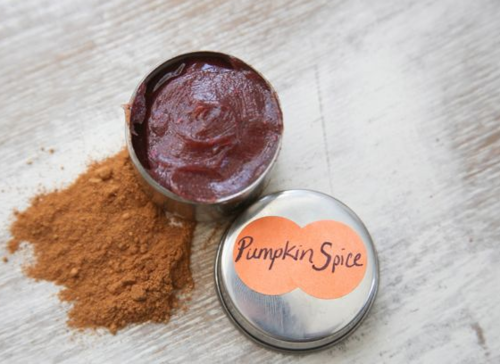 Pumpkin Spice DIY Lip Gloss