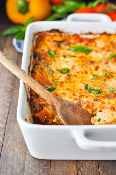 Quick and Easy Vegetable Lasagna