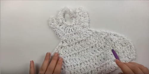 Angel Dishcloth Crochet Tutorial