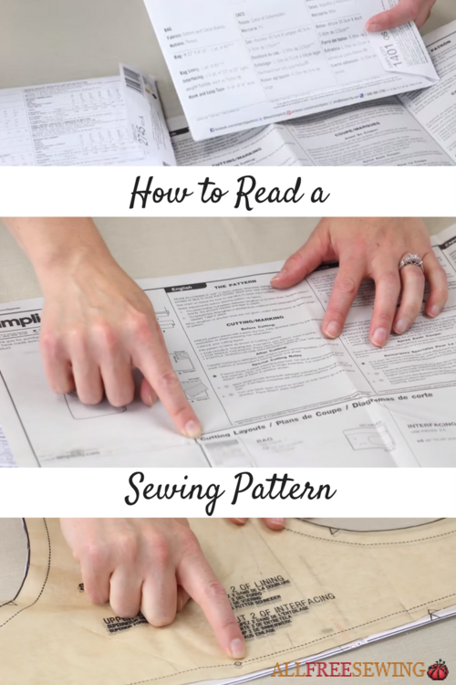 Sewing 101 How to Read a Sewing Pattern